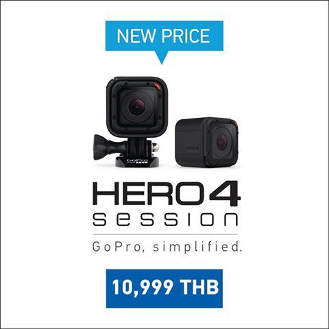 GoPro Hero4 Session