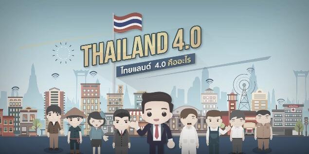 Thailand 4.0 คืออะไร