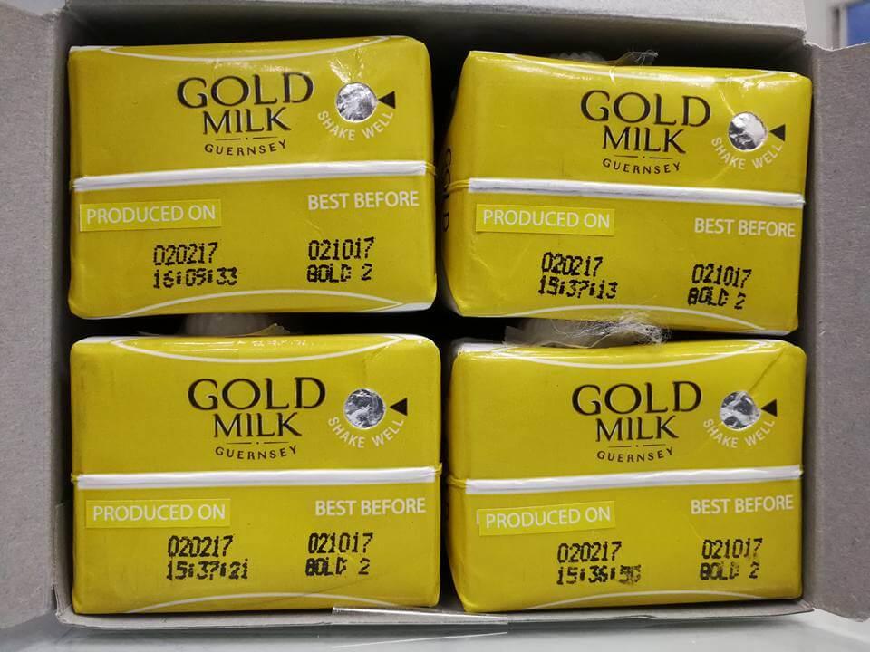 Gold Milk Guernsey