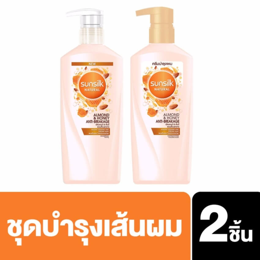 SUNSILK NATURAL Shampoo Almond