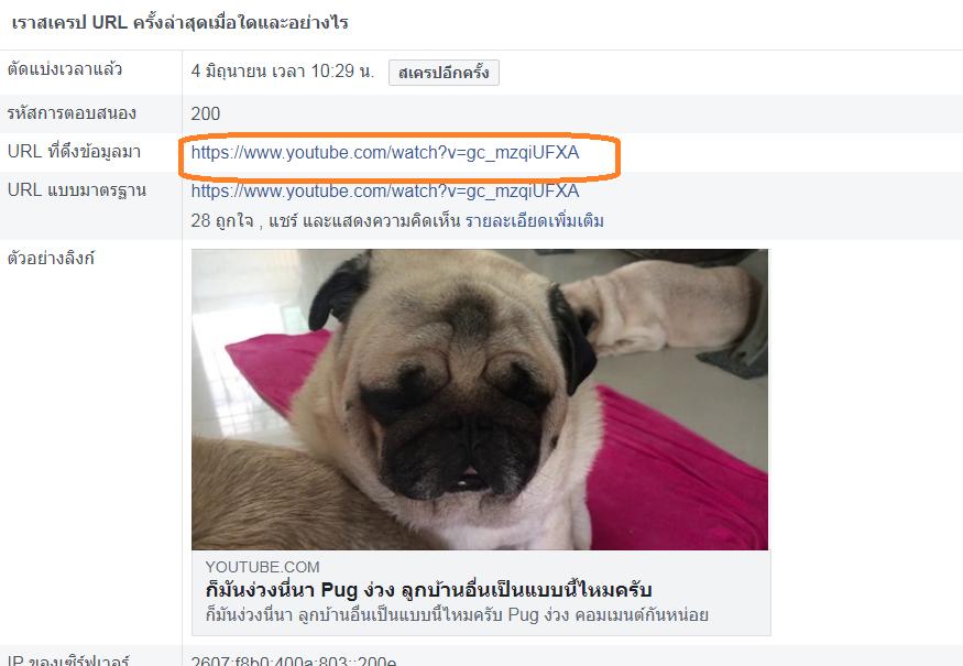 โพสต์ลิงค์ยูทูปลง Facebook ให้เป็นภาพใหญ่3