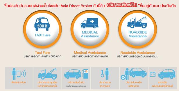 ADB ประกันภัยรถยนต์ Asia Direct Broker